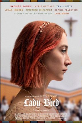 Cartaz do filme LADY BIRD – A HORA DE VOAR