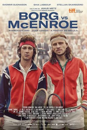 Cartaz do filme BORG VS McENROE