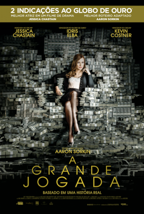 Cartaz do filme A GRANDE JOGADA – Molly's Game