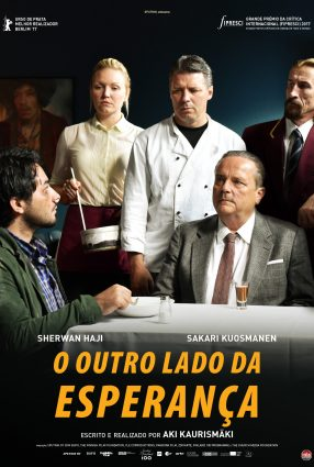 Cartaz do filme O OUTRO LADO DA ESPERANÇA – The Other Side of Hope