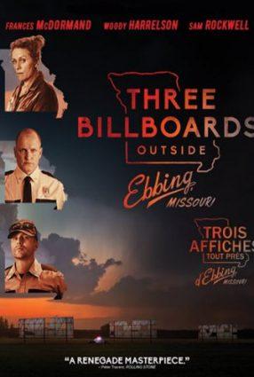 Cartaz do filme TRÊS ANÚNCIOS PARA UM CRIME – Three Billboards Outside Ebbing, Missouri