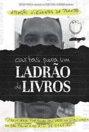 Cartaz do filme CARTAS PARA UM LADRÃO DE LIVROS