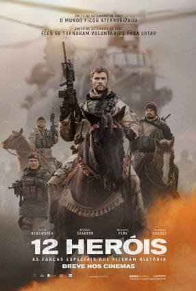 Cartaz do filme 12 HERÓIS – 12 Strong
