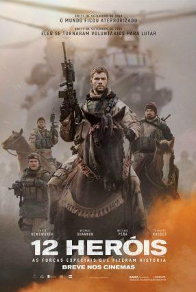 Cartaz do filme 12 HERÓIS – 12 Strong