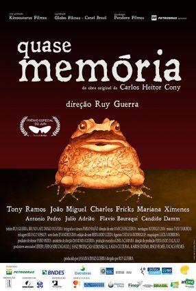 Cartaz do filme QUASE MEMÓRIA