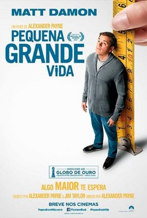 Cartaz do filme PEQUENA GRANDE VIDA – DOWNSIZING
