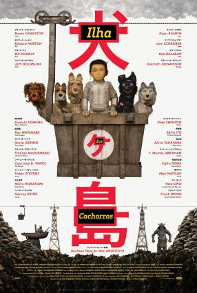 Cartaz do filme ILHA DOS CACHORROS – Isle of Dogs