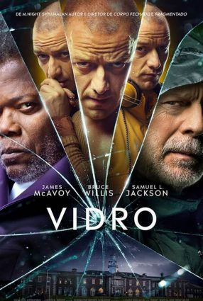 Cartaz do filme VIDRO – Glass