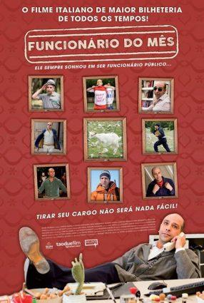 Cartaz do filme FUNCIONÁRIO DO MÊS – Quo Vado?