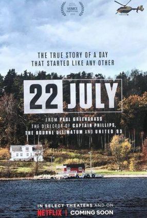Cartaz do filme 22 DE JULHO – 22 July