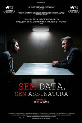 Cartaz do filme SEM DATA, SEM ASSINATURA – No Date, No Sign