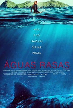 Cartaz do filme ÁGUAS RASAS – The Shallows