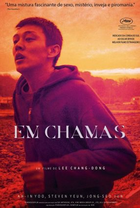 Cartaz do filme EM CHAMAS – BURNING