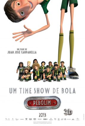Cartaz do filme UM TIME SHOW DE BOLA – Metegol