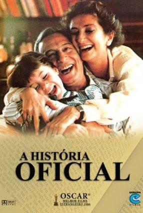 Cartaz do filme A HISTÓRIA OFICIAL – La Historia Oficial