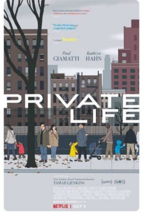 Cartaz do filme MAIS UMA CHANCE  – Private Life