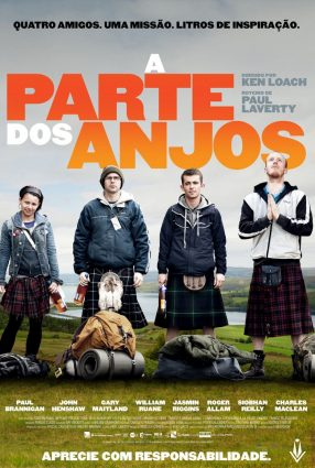 Cartaz do filme A PARTE DOS ANJOS – The Angels' Share