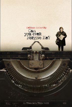 Cartaz do filme PODERIA ME PERDOAR? – Can You Ever Forgive Me?
