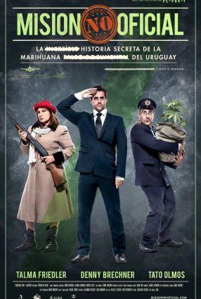 Cartaz do filme TRAGAM A MACONHA – Misión no Oficial