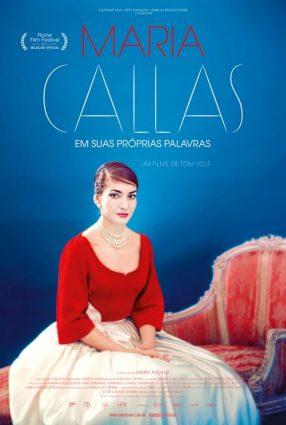 Cartaz do filme MARIA CALLAS – EM SUAS PRÓPRIAS PALAVRAS – Maria By Callas