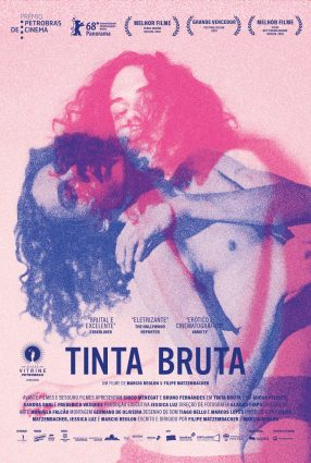Cartaz do filme TINTA BRUTA