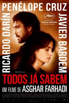 Cartaz do filme TODOS JÁ SABEM – Todos Lo Saben