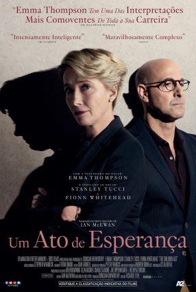 Cartaz do filme UM ATO DE ESPERANÇA – The Children Act