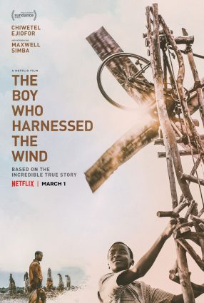 Cartaz do filme O MENINO QUE DESCOBRIU O VENTO – The Boy Who Harnessed the Wind