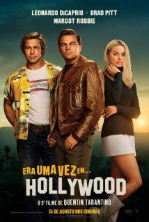 Cartaz do filme ERA UMA VEZ EM… HOLLYWOOD – Once Upon a Time in… Hollywood