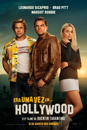 Cartaz do filme ERA UMA VEZ EM… HOLLYWOOD – Once Upon a Time in… Hollywood