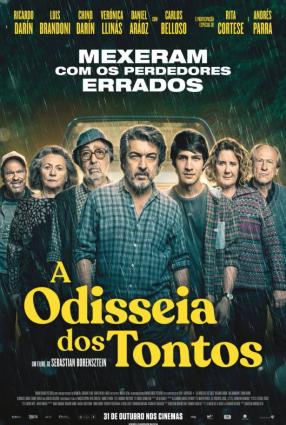 Cartaz do filme A ODISSEIA DOS TONTOS