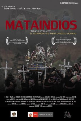 Cartaz do filme MATAINDIOS – INDIGENOUS' SLAYER