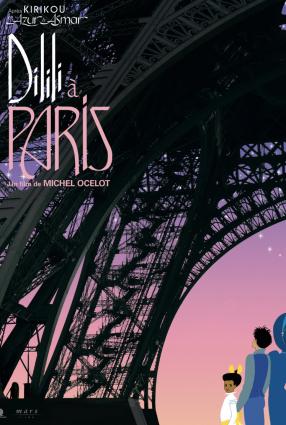 Cartaz do filme DILILI EM PARIS – DILILI À PARIS