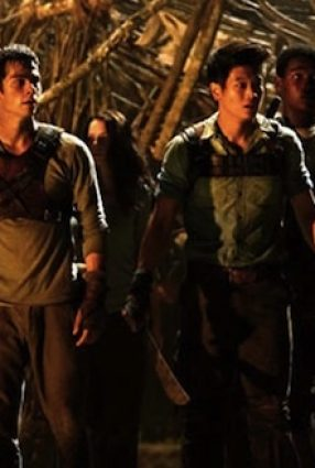 Cartaz do filme MAZE RUNNER – CORRER OU MORRER – The Maze Runner