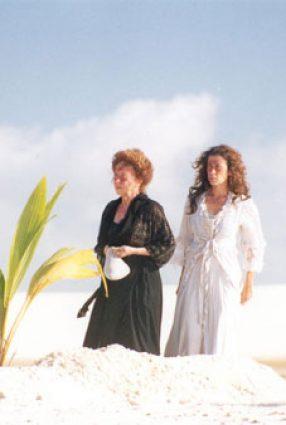 Cartaz do filme CASA DE AREIA