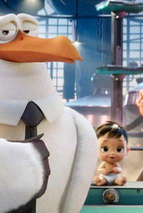 Cartaz do filme CEGONHAS – Storks