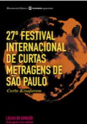 27º FESTIVAL INTERNACIONAL DE CURTAS METRAGENS DE SP