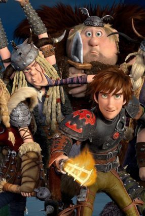 Cartaz do filme COMO TREINAR O SEU DRAGÃO 2 – How to Train Your Dragon 2