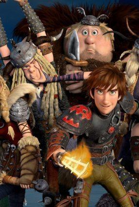 Cartaz do filme COMO TREINAR O SEU DRAGÃO 2 – How to Train Your Dragon 2