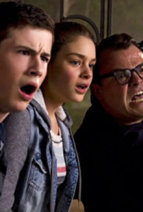 Cartaz do filme GOOSEBUMPS: MONSTROS E ARREPIOS – Goosebumps