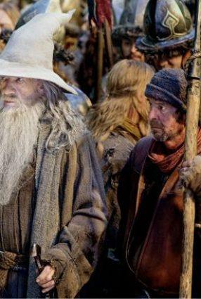 Cartaz do filme O HOBBIT: A BATALHA DOS CINCO EXÉRCITOS – The Hobbit: The Battle of the Five Armies