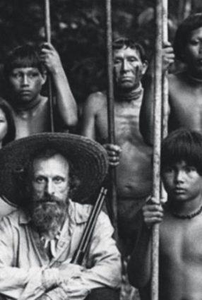Cartaz do filme O ABRAÇO DA SERPENTE – El Abrazo de la Serpiente